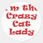 Im la señora loca del gato etiquetas