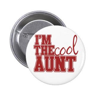 Im la tía fresca pin redondo de 2 pulgadas