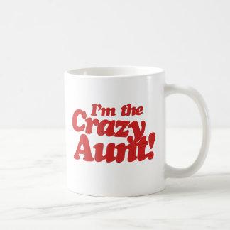 Im la tía loca taza clásica