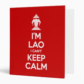 I'm Lao I Can't Keep Calm Binder