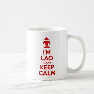 I'm Lao I Can't Keep Calm Coffee Mug