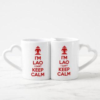 I'm Lao I Can't Keep Calm Coffee Mug Set