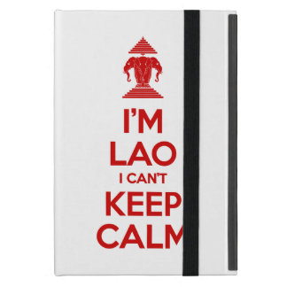 I'm Lao I Can't Keep Calm Cover For iPad Mini