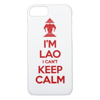 I'm Lao I Can't Keep Calm iPhone 7 Case