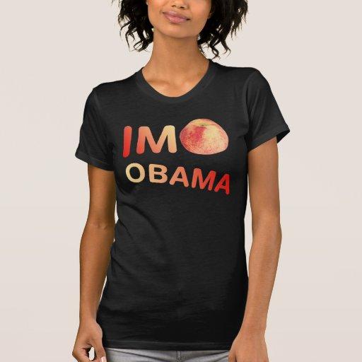 Im las señoras de Obama del melocotón destruyeron Playera