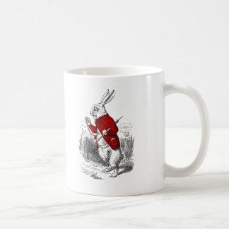 I'm Late, I'm Late Coffee Mug
