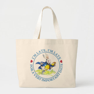 I'm Late, I'm Late For a Very Important Date! Tote Bag