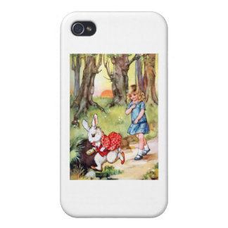 I'm Late, I'm Late For a Very Important Date! Case For iPhone 4