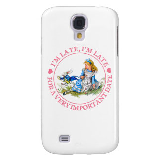 I'm Late, I'm Late, For A Very Important Date! Galaxy S4 Covers