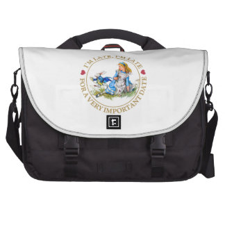 I'm Late, I'm Late, For A Very Important Date! Commuter Bags
