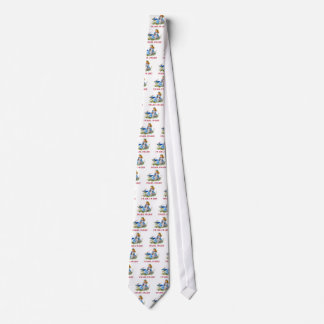 I'M LATE, I'M LATE! FOR A VERY IMPORTANT DATE! NECK TIE
