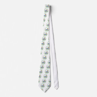 I'M LATE, I'M LATE, FOR A VERY IMPORTANT DATE NECK TIE