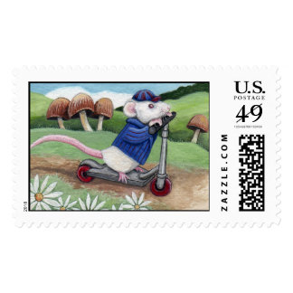 I'm Late - Mouse Postage