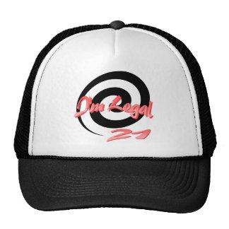 I'm Legal 21 Trucker Hat