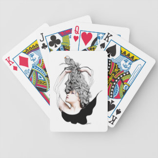 I'm like a bird bicycle playing cards