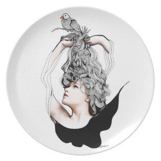 I'm Like A Bird plate