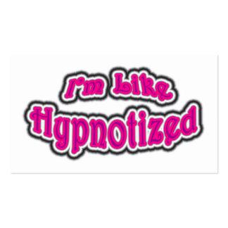 I'm Like Hypnotized Business Card