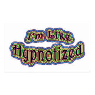 I'm Like Hypnotized Business Card Templates