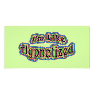 I'm Like Hypnotized Personalized Photo Card