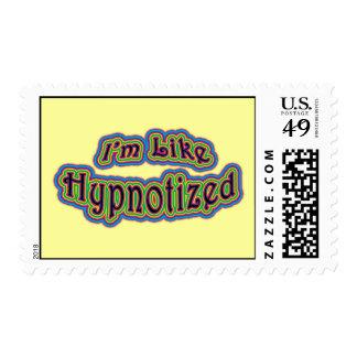 I'm Like Hypnotized Postage Stamp