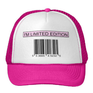 I'm Limited Edition Barcode Cap Trucker Hat
