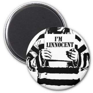 I'M LINNOCENT 2 INCH ROUND MAGNET