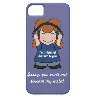 I'm Listening, Just Not to You iPhone 5 Case