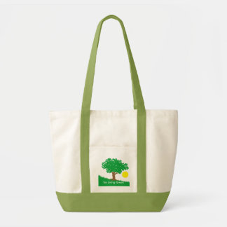 I'm Living Green Tote Bag