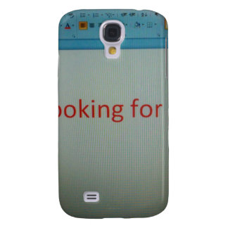 I'm looking for a job... galaxy s4 cover