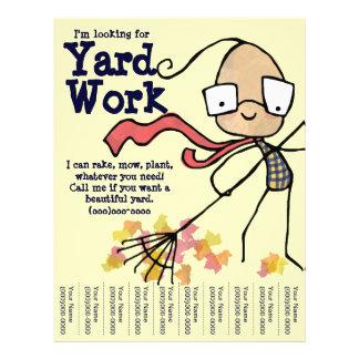 work flyers templates