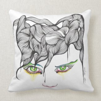 I'm Looking Through You throwpillow