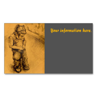 I'm Lost in Le Tianguie, Mexico Business Card Magnet