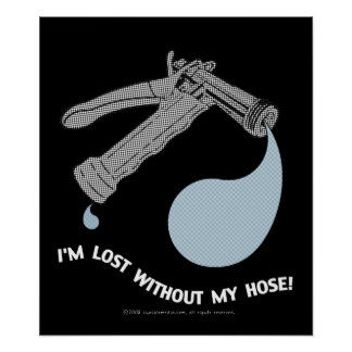 I'M LOST POSTER