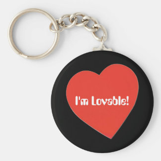 I'm Lovable Key Chains