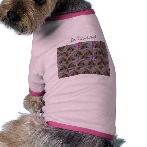 I'm Loveable! Doggie T Shirt