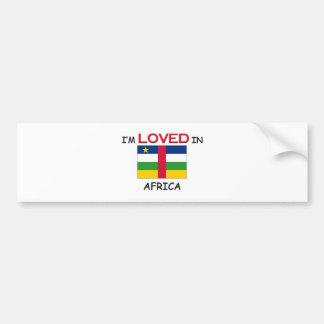 I'm Loved In AFRICA Bumper Sticker