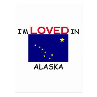 I'm Loved In ALASKA Postcard