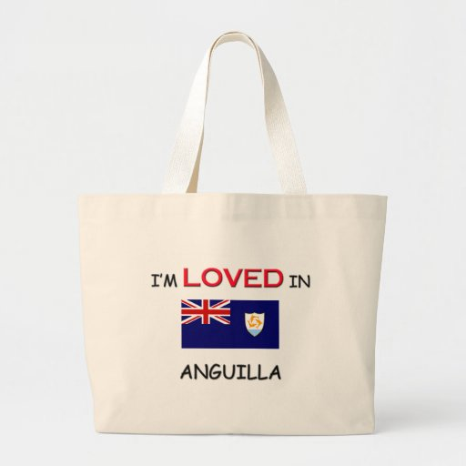 I'm Loved In ANGUILLA Canvas Bag