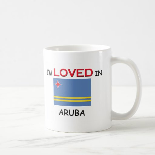 I'm Loved In ARUBA Mugs