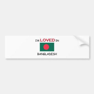 I'm Loved In BANGLADESH Car Bumper Sticker