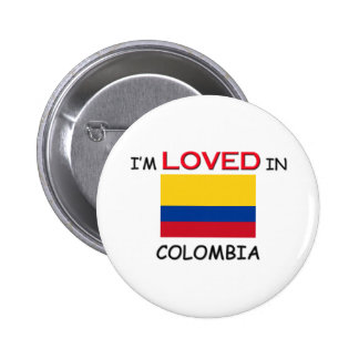 I'm Loved In COLOMBIA Pins