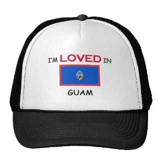I'm Loved In GUAM Trucker Hats