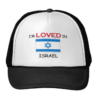 I'm Loved In ISRAEL Hats