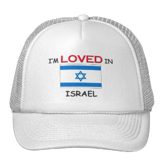 I'm Loved In ISRAEL Mesh Hats
