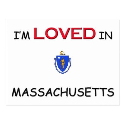 I'm Loved In MASSACHUSETTS Postcards