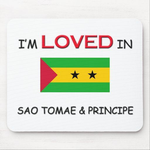 I'm Loved In SAO TOMAE & PRINCIPE Mouse Mats