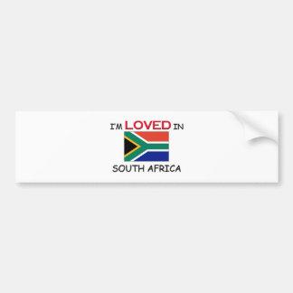 I'm Loved In SOUTH AFRICA Bumper Sticker