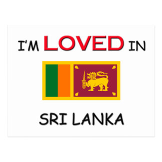 I'm Loved In SRI LANKA Postcard