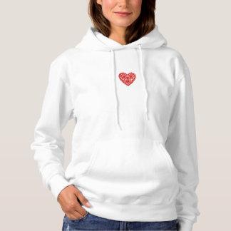 """I'm Loved"" Sweatshirt_II_Valentine's""-Template Hoodie"