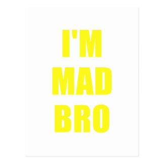 Im Mad Bro Postcard